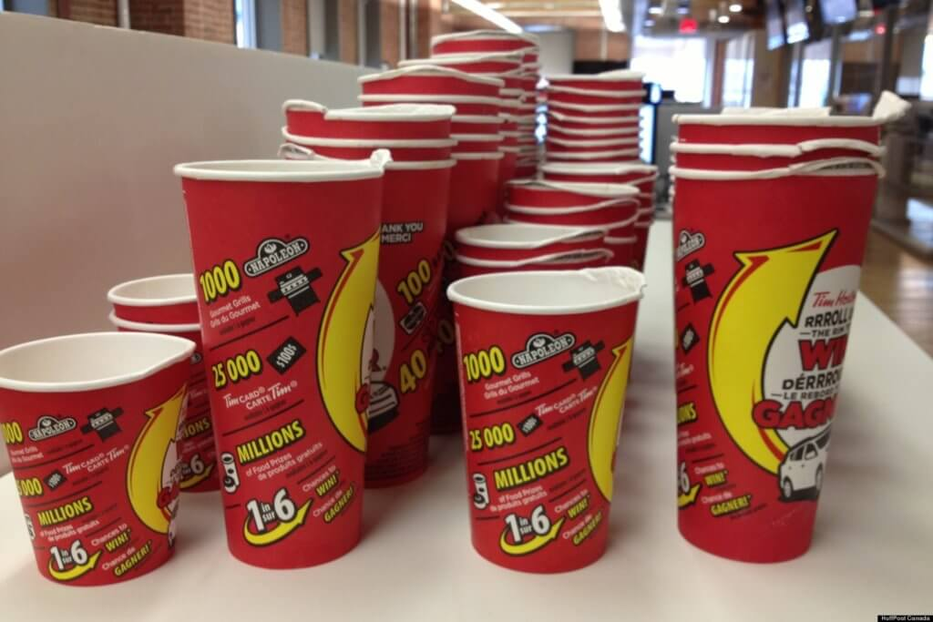 O Roll Up The Rim Cups Facebook
