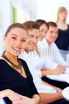 Stock Photo Featuring Business Executives at a Meeting