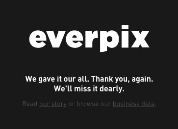 Everpix screenshot