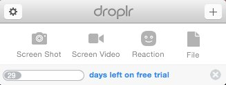 Droplr Screenshot