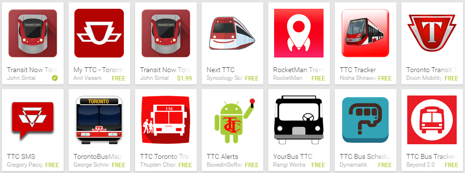 TTC Apps