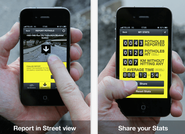 Taxi App on iPhone Mockups