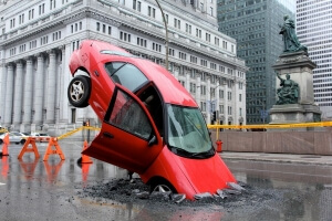 nids-de-poule-stunt-PR-canada-Taxi-montréal-voiture-accidentée-1-600x400