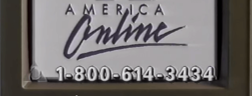 What We Can Learn From a AOL's 1995 Commercial