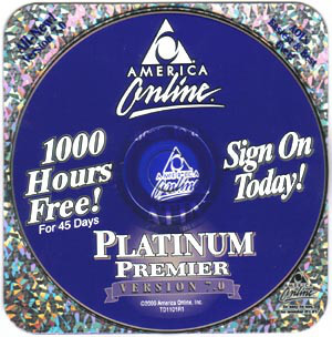 AOL CD