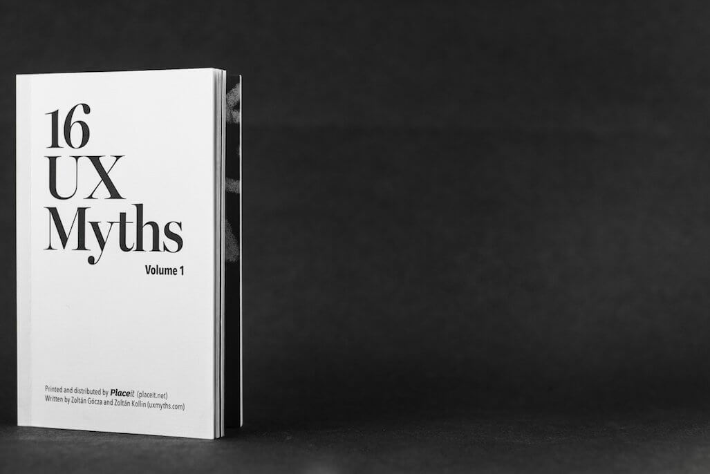 16 UX myths book