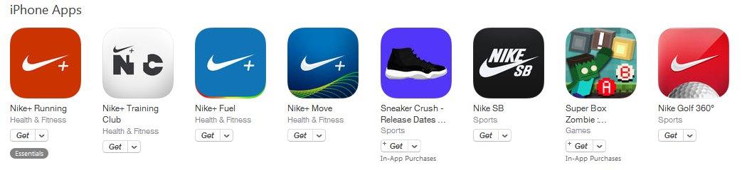 Nike Apps