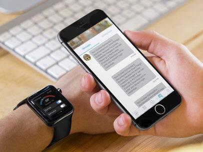 Applewatch Mockup Free