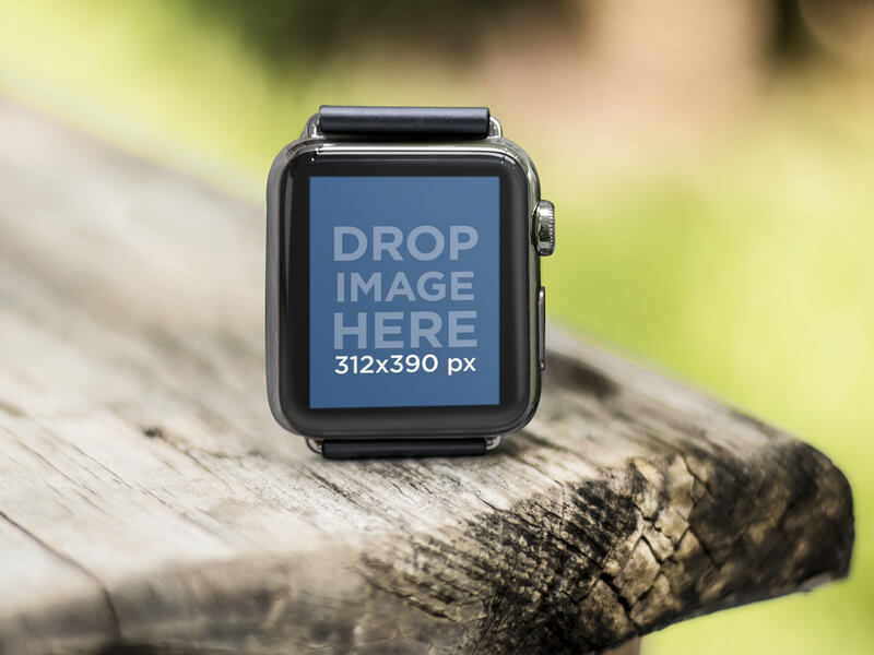 Beautiful Apple Watch Mockup Templates