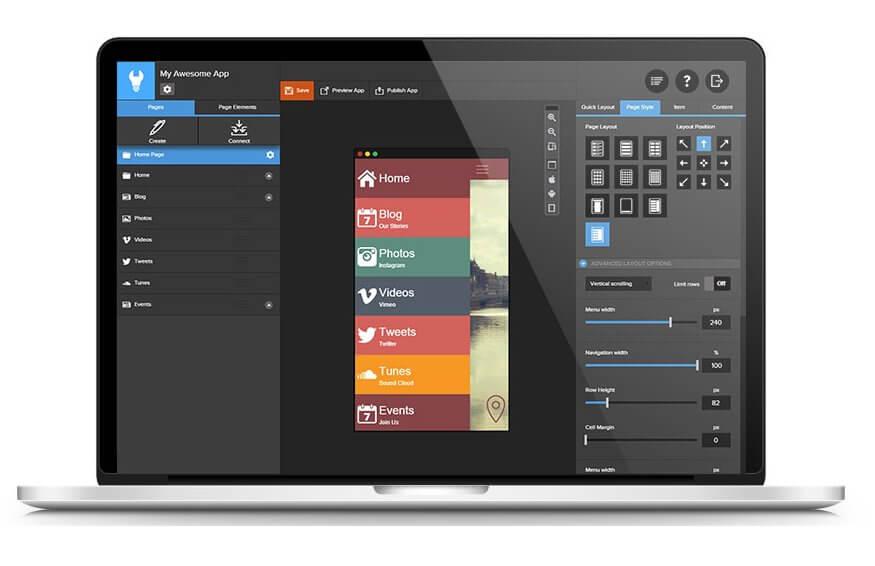 Appsbuilder on a Macbook Pro