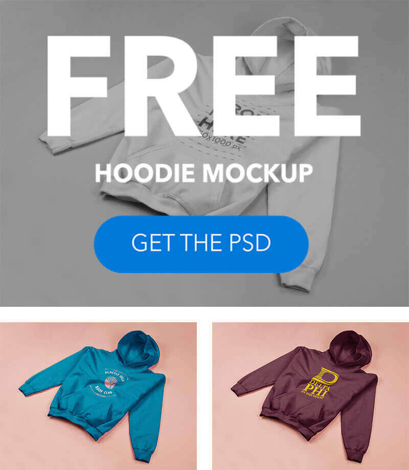 Free Hoodie Mockup
