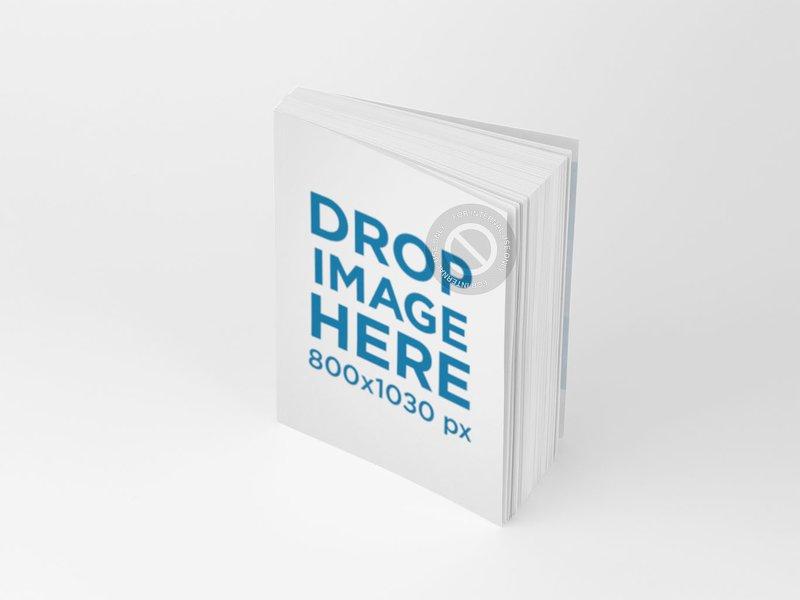 3d book template