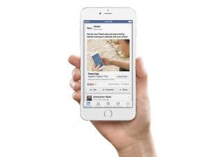 facebook app install mockup placeit