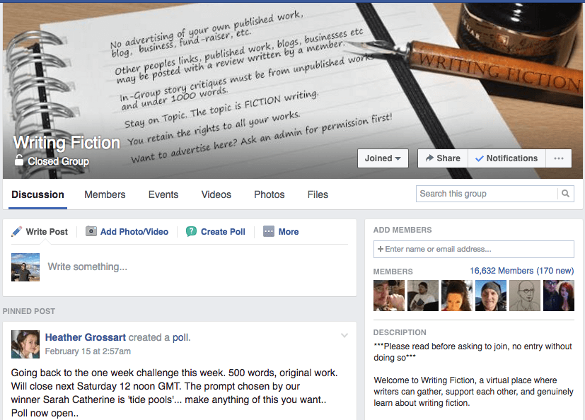 Facebook Groups for Book Writers