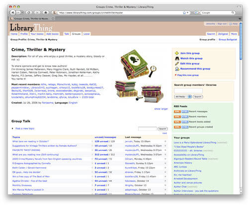 LibraryThing Writer Community