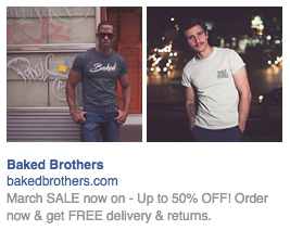t-shirt ad on facebook