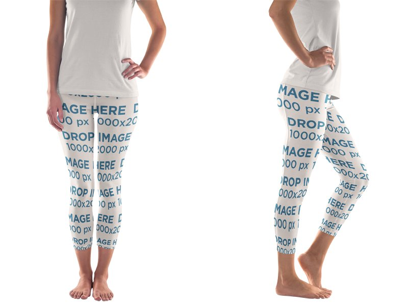 display your new designs using legging mockups placeit blog