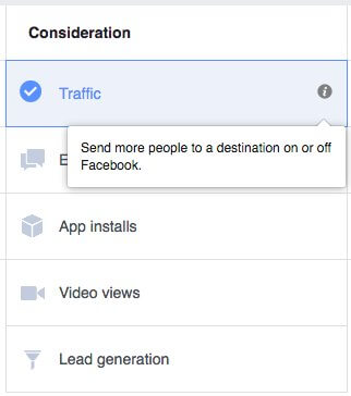 Create Traffic To Your Facebook Ad