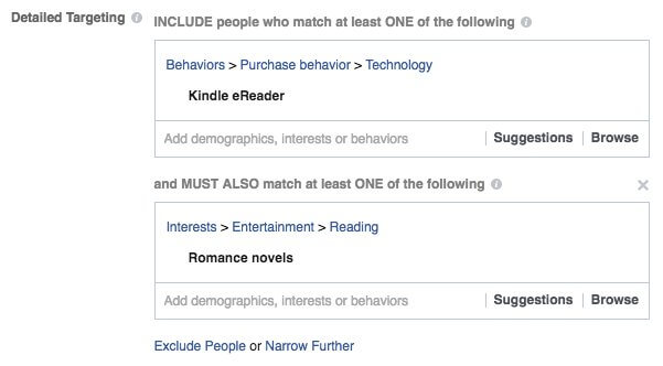 Facebook Ad Guide Narrow Audience