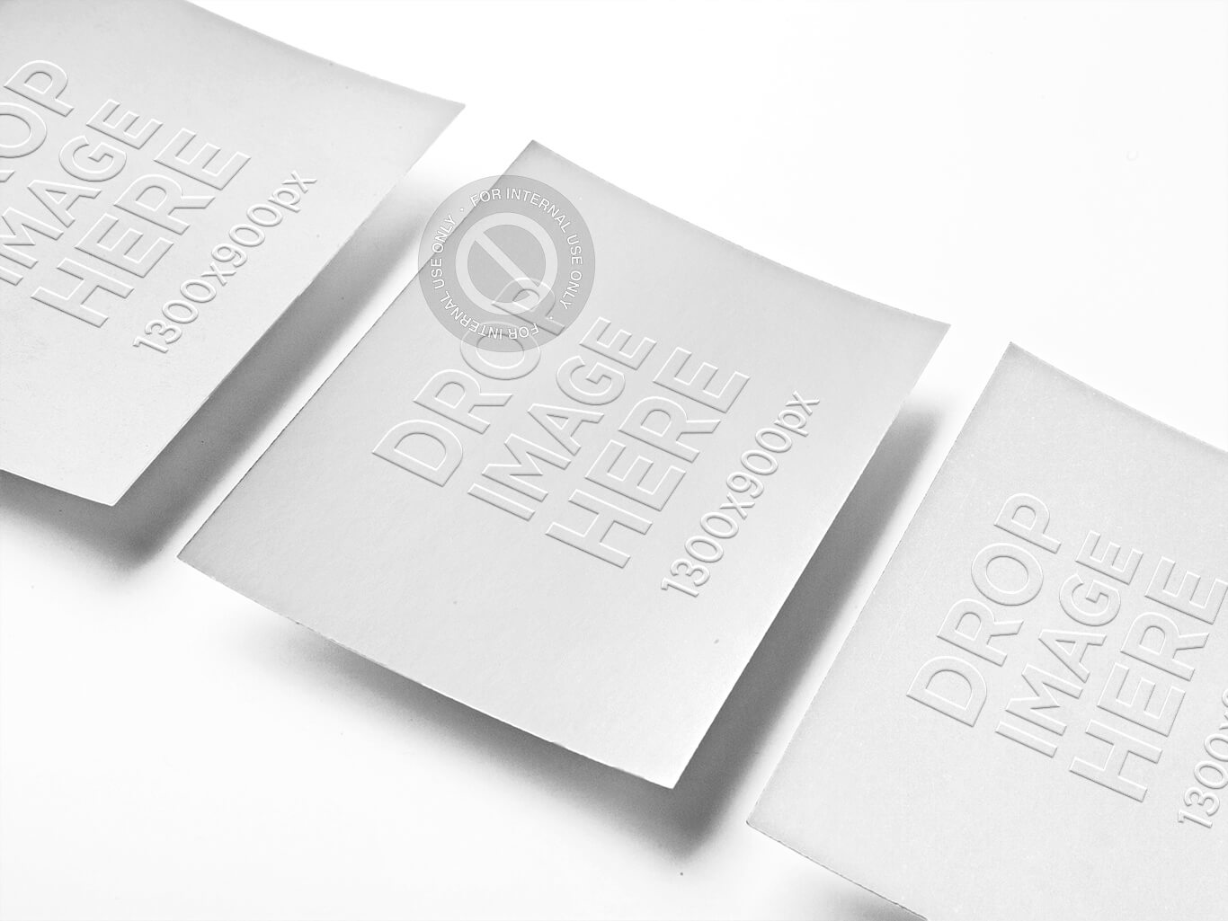 ELEGANT BUSINESS CARD MOCKUP WITH SHADOW