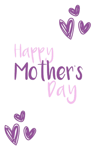 Mother Days Design Made with Photoshop
