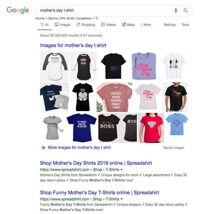 Mother's Day T-Shirt Google Search
