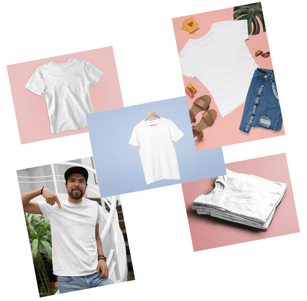 Blank T Shirt Mockups To Sell Your T Shirt Desigs