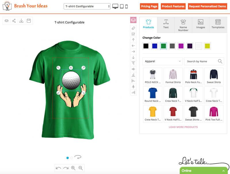 BrushYourIdeas T-Shirt Designer