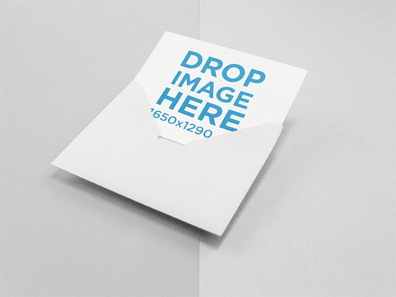 Sell your designs with envelope and invitation mockups placeit showcase your design on an invitation mockup coming out of a white envelope against a two colors surface stopboris Images