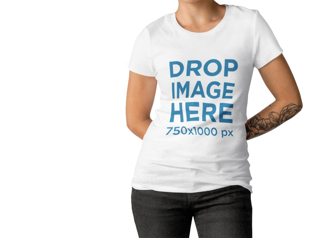 Promote Your Designs With A Blank Tshirt Template