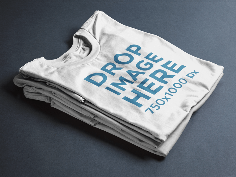t-shirt mockup garment only