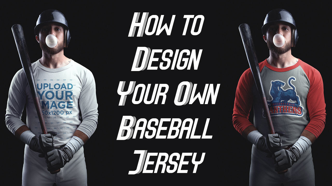 more photos be276 40a31 Customize a Baseball Jersey Template - You Don't Have To Be ...