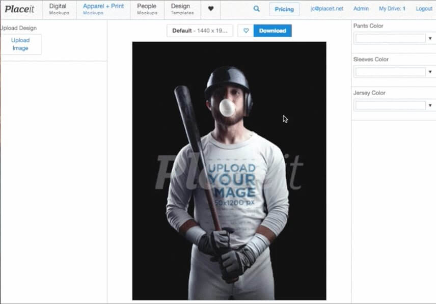 4147c9c0f Customize a Baseball Jersey Template - You Don t Have To Be A Designer