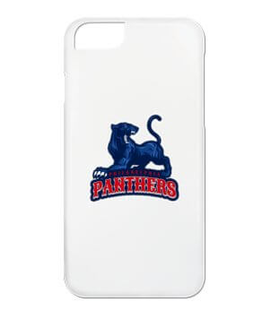 Phone case with placeit's custom sports logo