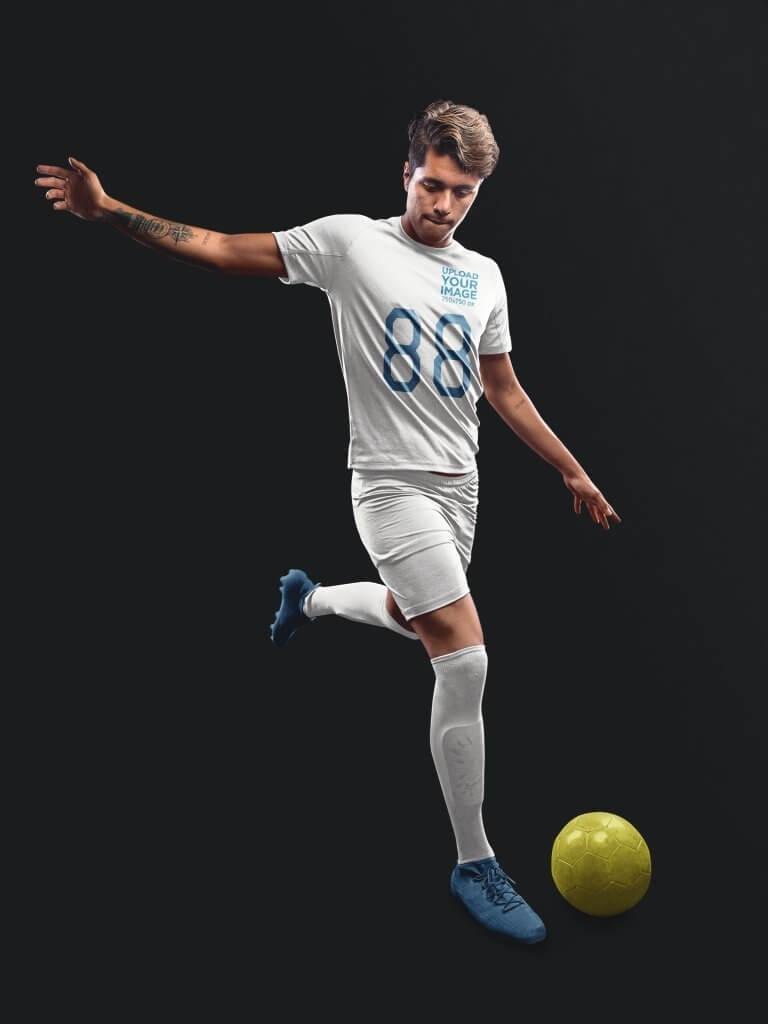 Custom Soccer Jersey Maker Kick