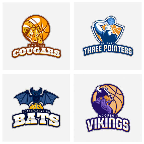 The Easiest Basketball Logo Maker You Ll Find Placeit Blog