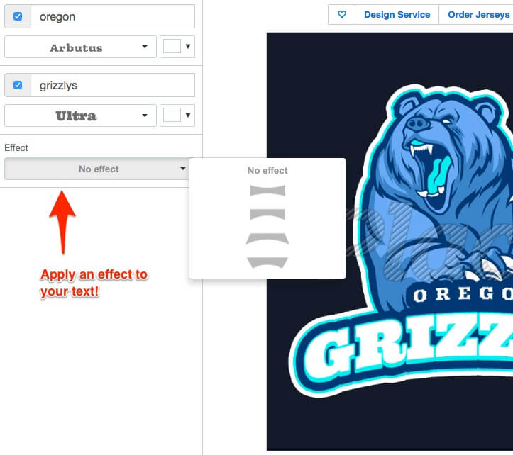 basketball logo maker - edit text fields
