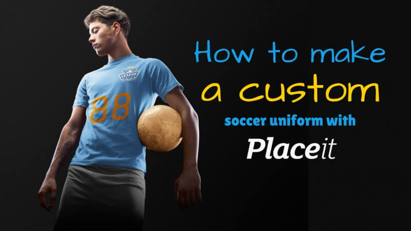 custom soccer jersey header