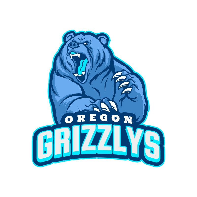 Grizzlies custom logo