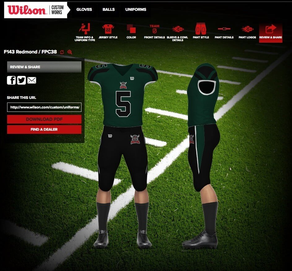 football jerseys wilson final