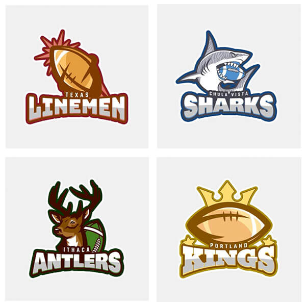 football logo maker create team logos in seconds