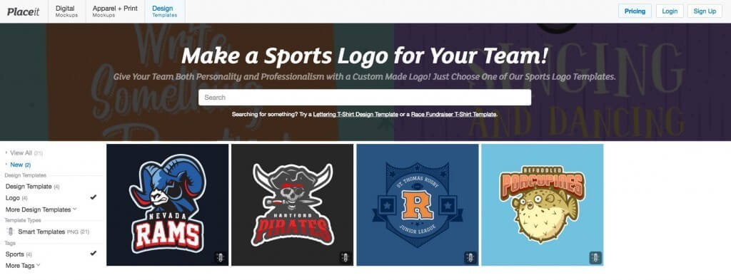 Football logo maker create team logos in seconds placeit blog sports logo maker maxwellsz