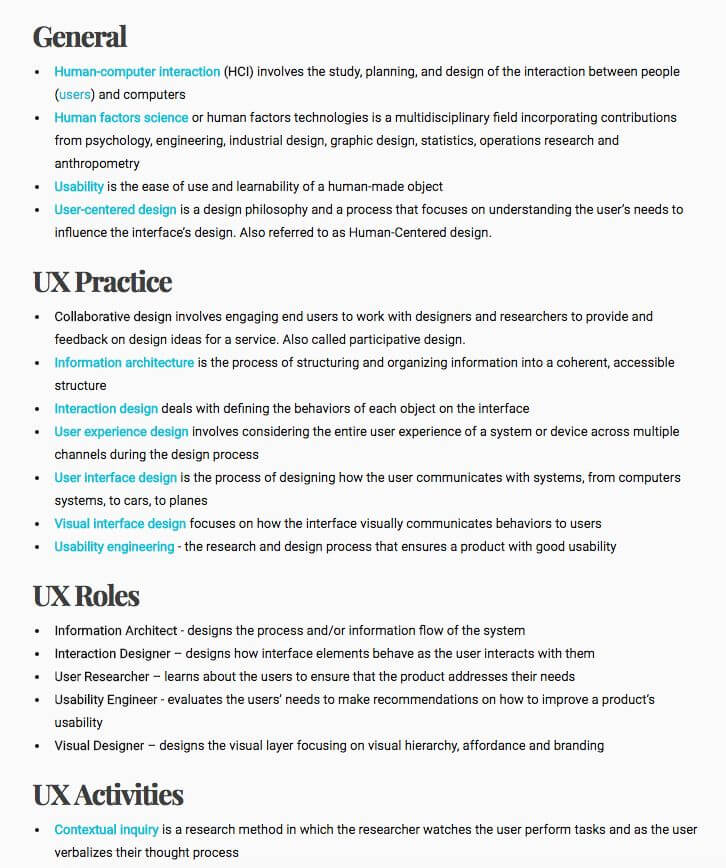 UX/UI Guidelines