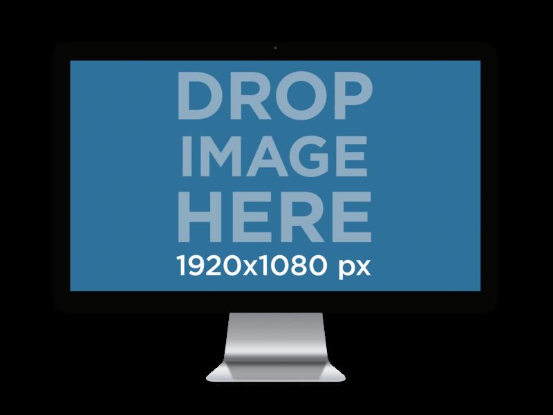 Transparent iMac Mockup PNG