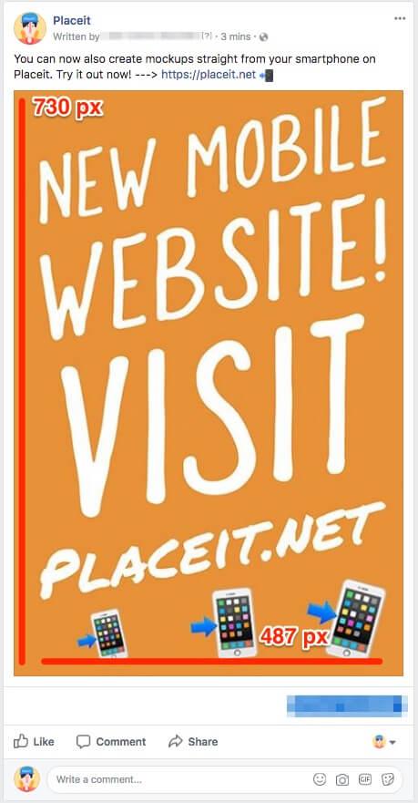 facebook ad image mobile