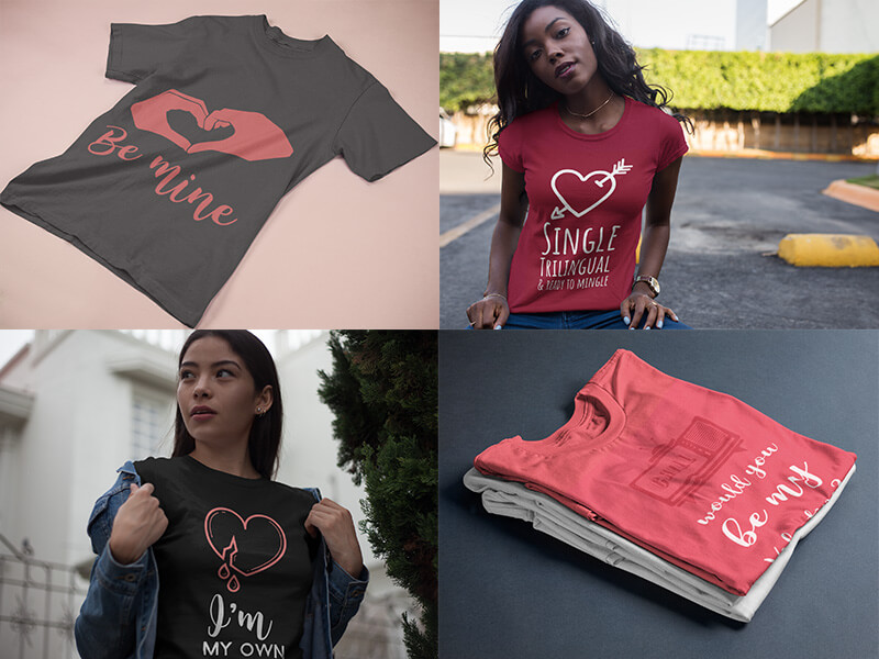 d8b636389 Ideas to Help You Design the Perfect Valentine's Day Shirts ...