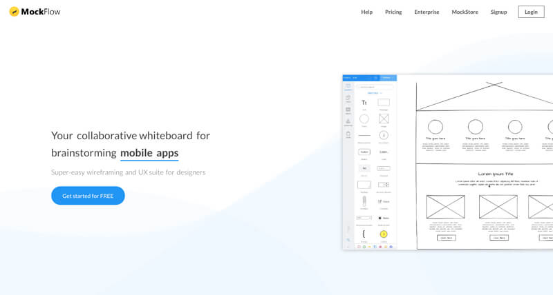 Mockflow Makes Designing Wireframes Easy