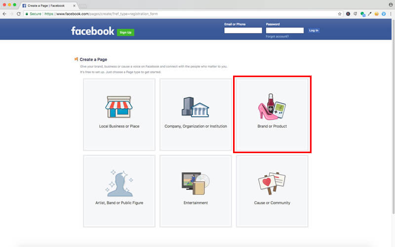 Set Up Your Facebook Account2