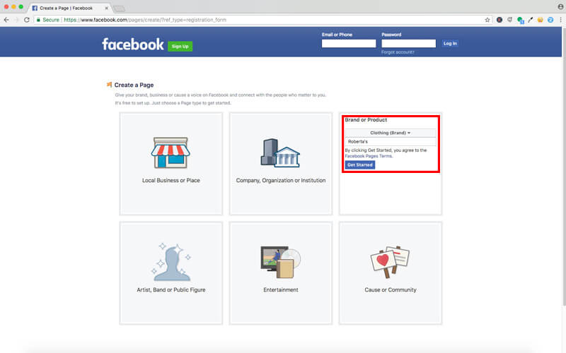 Set Up Your Facebook Account5