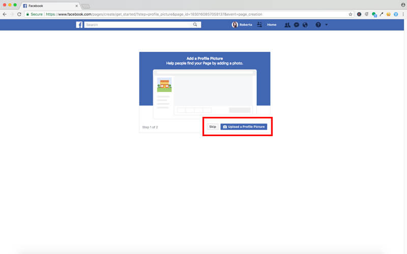 Set Up Your Facebook Account6
